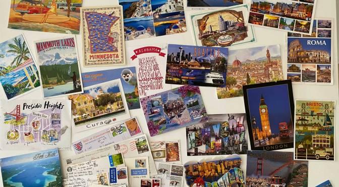 C'est l'été : Lancement de l'opération Les Cartes Postales d'Enaid !